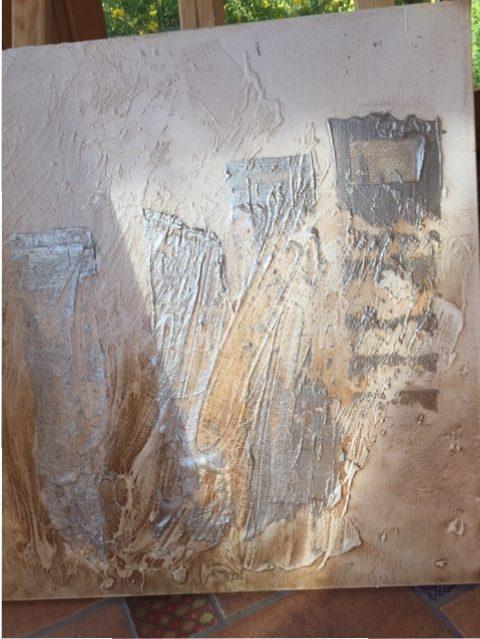 Cuadro Pintura y oxido